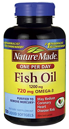 nature made fish oil one per day - 5