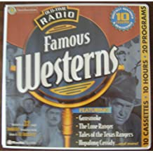 Old-Time Radio Famous Westerns [With 32 Pages]