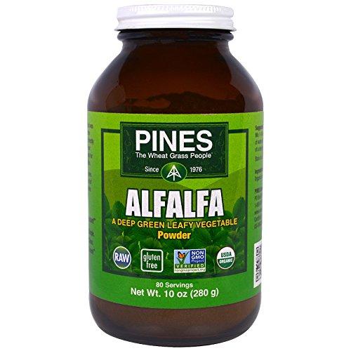 Pines International, Alfalfa Powder, 10 oz (280 g) - 3PC by Pines International