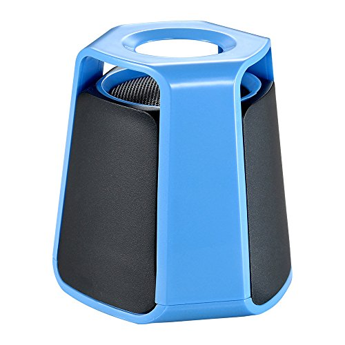 ET Wireless Bluetooth Speaker Portable Outdoor Mini Wireless Stereo Speakers with Handsfree TF HiFi Subwoofer Music Player Loudspeaker(Blue)