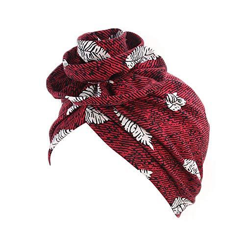 Weiliru 2019 Women Muslim Hat Retro Turban Hat Head Scarf Wrap Cap]()