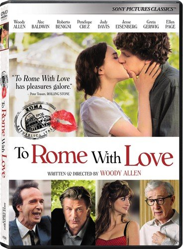 DVD : To Rome with Love (Widescreen, Dolby, AC-3, )