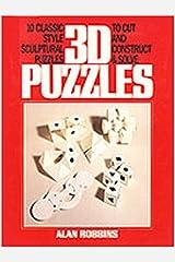 3D Puzzle Book Paperback