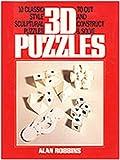 Three-D Puzzle Book, Alan Robbins, 0440501431