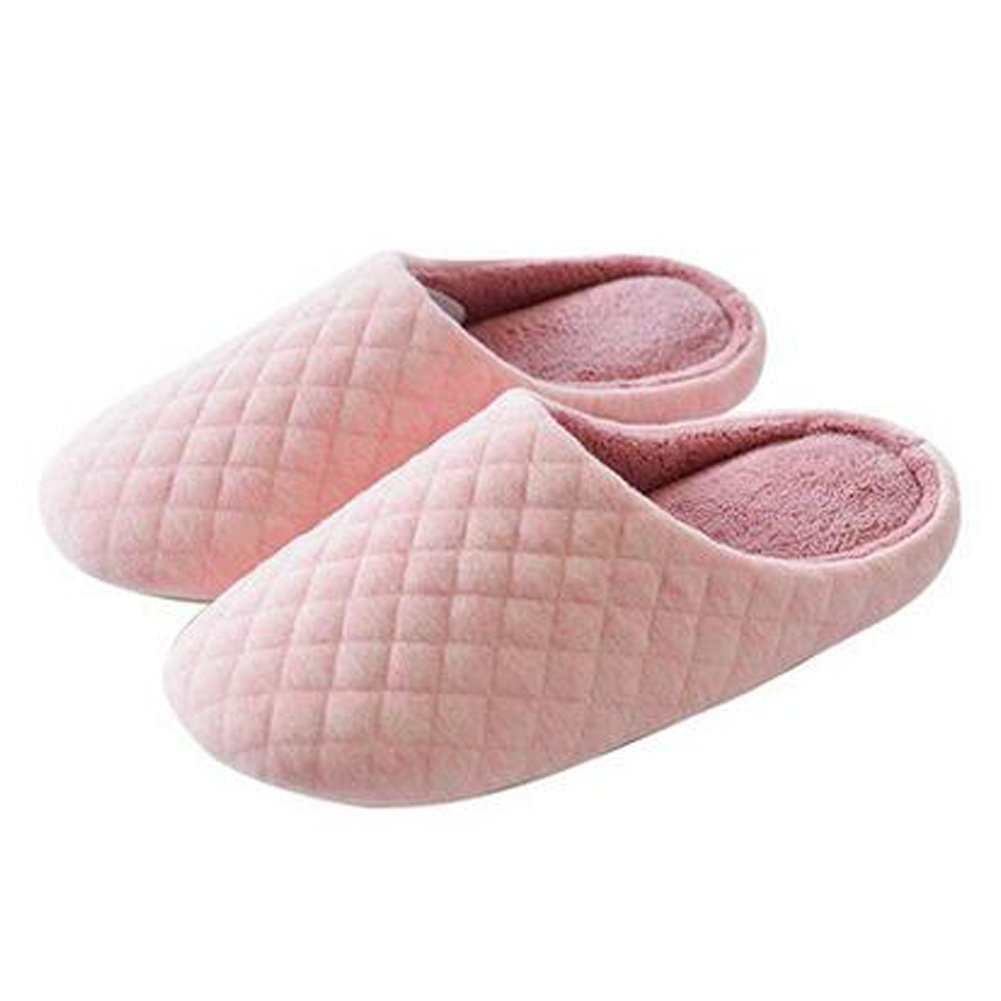 Japanese Ladies Winter Warm & Cozy Indoor Shoes House Slipper, Pink Kylin Express