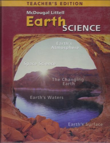 McDougal Littell  Earth Science, Teacher's Edition