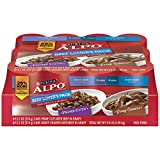 Purina ALPO Prime Cuts/Gravy Cravers Beef Lover's Pack Dog Food – (1) 9.9 lb. Tray