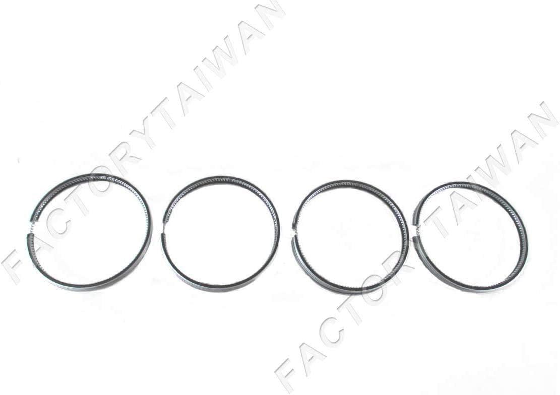 4 Set Piston Ring STD for Mitsubishi Forklift S4Q S4Q2 Engine 88mm