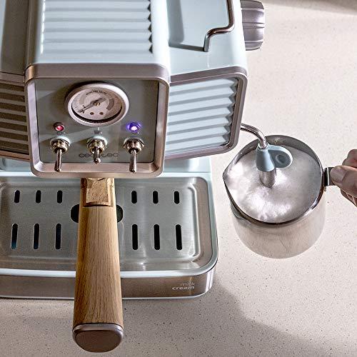 Cecotec Cafetera express Power Espresso 20 Tradizionale para espressos y cappuccinos, rápido sistema de calentamiento…