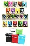 pokemon tcg psychic energy - 100 Pokemon Energy Card Bundle with Free Deck Box & Random Bonus - 90 Assorted Regular + 5 Foil Reverse Holo + 5 Special Energies