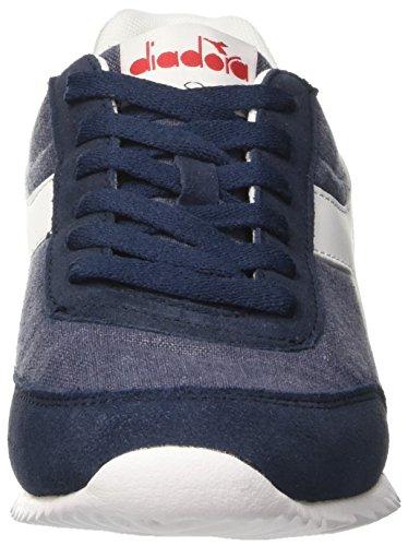 Diadora Unisex-Erwachsene Jog Light C Sneaker Low Hals Blau (Blu Denim Scuro)