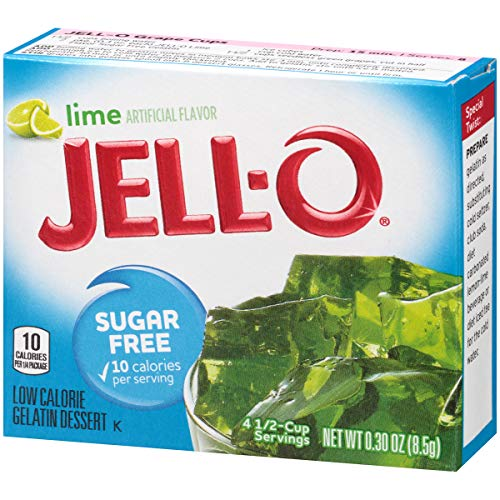 Jell-O Sugar-Free Lime Gelatin Dessert Mix, 0.3 oz Box by Jell-O (Image #6)