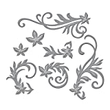 Spellbinders S4-327 Shapeabilities Floral Flourishes Etched/Wafer Thin Dies