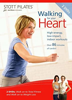 STOTT PILATES Walking for Your Heart DVD 2 DVD Set