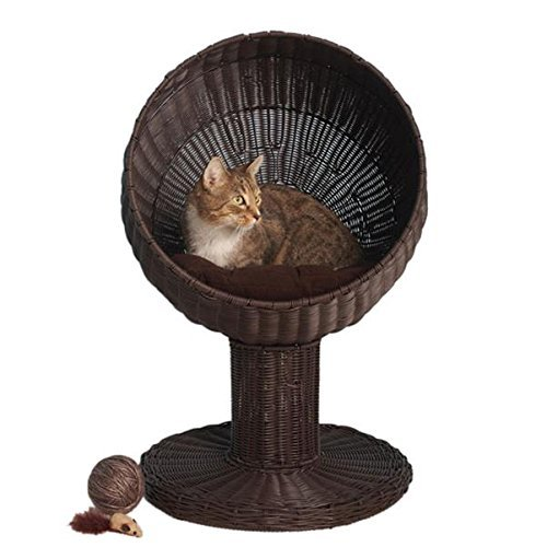 The Refined Feline's Kitty Ball Cat Bed (Kitty Dome Bed)