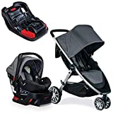 Britax B-Lively & B-Safe 35 Travel System - Dove with Extra Base Bundle