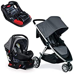 Cruise smooth with the B-Lively & B-Safe 35 Travel System combining the Britax B-Lively Lightweight Stroller, B-Safe 35 Infant Car Seat, and Britax car seat adapters in one convenient box. Featuring an all-wheel suspension system for ever...