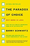 capa de The Paradox of Choice: Why More Is Less, Revised Edition