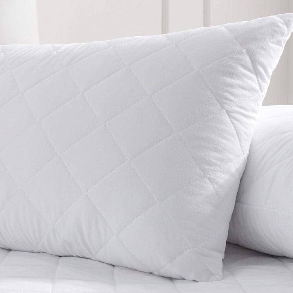 Roy Textile All-Season Poly-Cotton Quilted Pillow Protectors Pack of 8 *OFFER