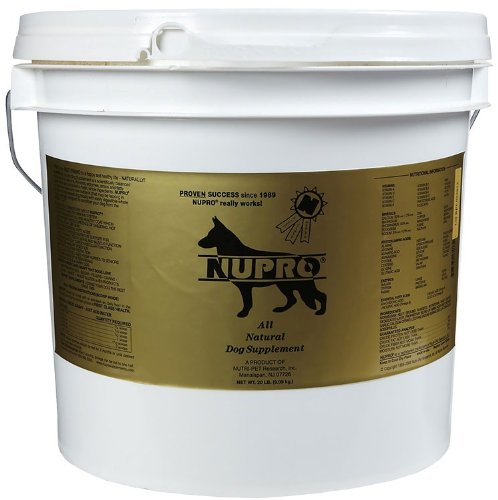 NUPRO SUPPLEMENTS 330015 All Natural Dogs Supplements for Pets, 20-Pound by Nupro