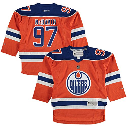 Connor McDavid Edmonton Oilers Orange Infants 12M-24M Reebok Alternate Replica Jersey 1 Orange Replica Basketball Jersey
