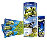 Green Gobbler Drain Opener & Toilet Clog Remover Pacs + Free Bio-Flow Strips (Opens clogged drains in Sinks, Tubs & Toilets - Works on Grease, Hair, Soap Scum & Paper)