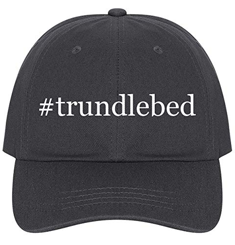 (The Town Butler #trundlebed - A Nice Comfortable Adjustable Hashtag Dad Hat Cap, Dark Grey)