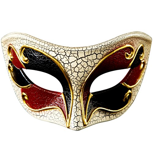 Music Party Masquerade Venetian Mask Halloween Coustme Dress up -