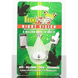 Frog Leggs Night Vision World's Smallest, Brightest, Stick On LED in Silver