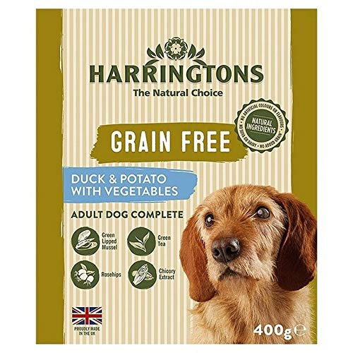 6X Harringtons Grain Free Duck & Potato with Vegetables 400g