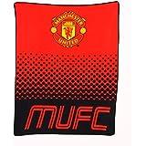 Manchester United Fade Fleece Blanket