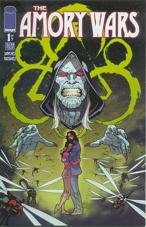 Coheed & Cambria's Claudio Sanchez presents The Amory Wars #1 : The Second Stage Turbine Blade Part 1 (Image Comics)