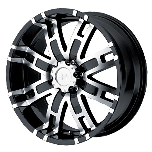 Helo HE835 Gloss Black Machined Wheel – (20×9″/8x170mm)