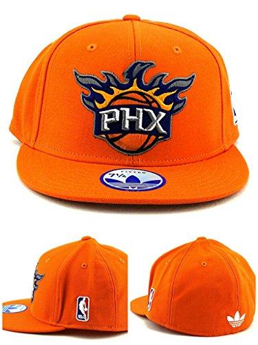- NBA Phoenix Suns Flat Bill Fitted Adidas Hat - 7 1/8 - TQ44K