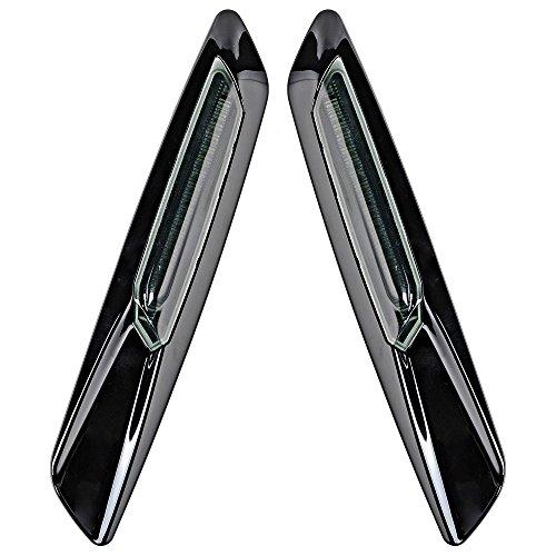 Price comparison product image Black Smoke Lens F10 Style Amber LED Fender Side Marker Turn Signal Light for BMW E61 E81 E82 E87 E90 E91 E92 E93