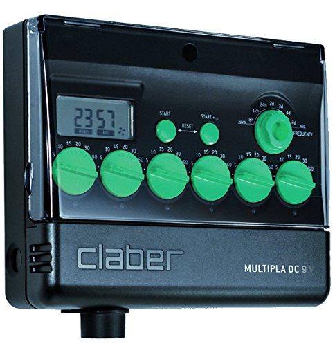 9 opinioni per Claber 8060 Multipla® DC 9 V con Display LCD, Programmatore elettronico a 6
