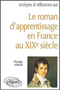 Le roman d'apprentissage en France XIXe siècle par Paule Collet