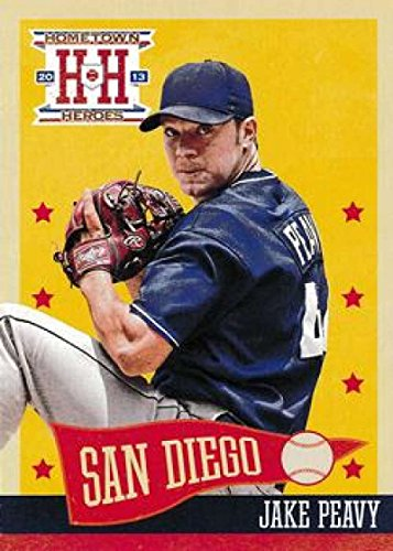 Baseball MLB 2013 Panini Hometown Heroes #225 Jake Peavy Padres