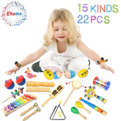 Review Toddler Musical Instruments- Ehome