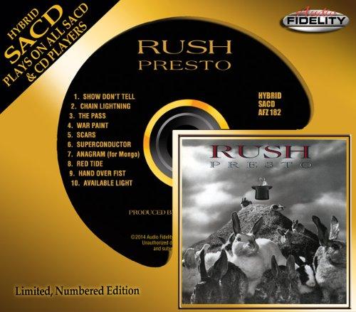 SACD : Rush - Presto (Hybrid SACD)