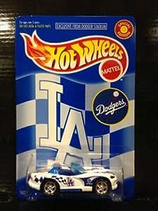 Amazon Com Hot Wheels Los Angeles Dodgers Dodge Viper Rt