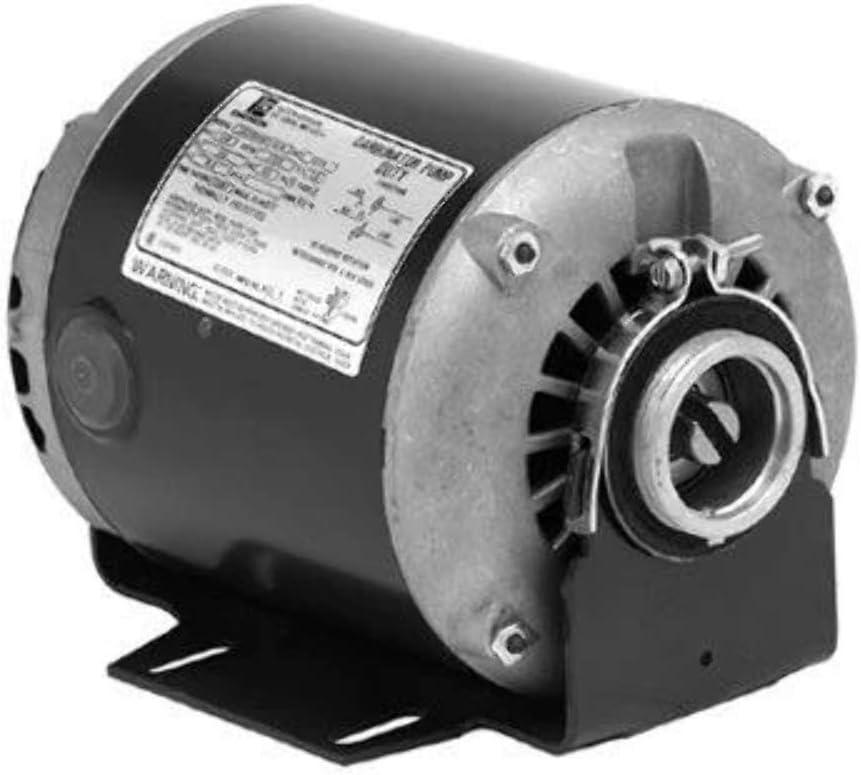 Nidec 1800 rpm 50//60 Hz 1 ph 115//230 V 872 3//4 hp ODP Enclosure Carbonator Pump Motor 48Z Frame US Motors