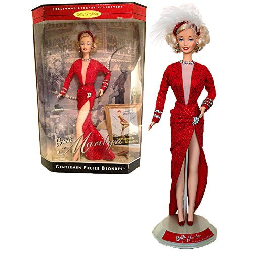 - Mattel Year 1997 Barbie Collector Edition Hollywood Legends Collection Series 12 Inch Doll - Barbie as Marilyn in