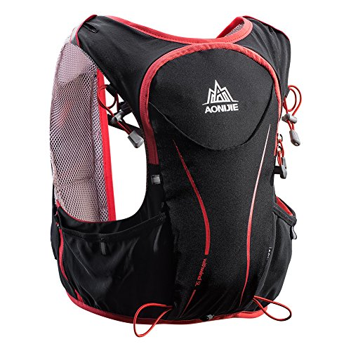 POJNGSN Hydration Pack Backpack Rucksack Bag Vest Harness Water Bladder Hiking Camping Running Race Sports 5L Set B by POJNGSN (Image #5)