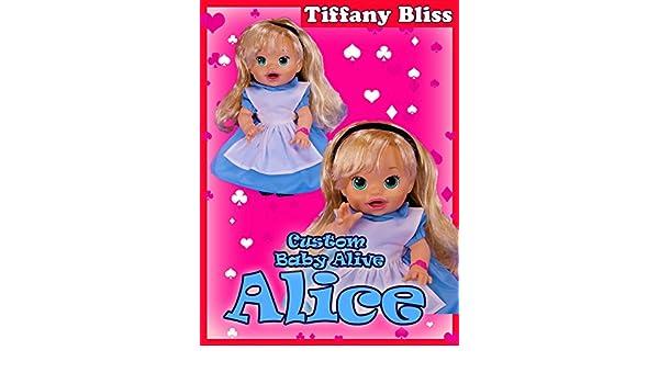 f87e562b03 Amazon.com  Watch Alice in Wonderland Custom Baby Alive Doll Eats Play-Doh  Poops Surprises
