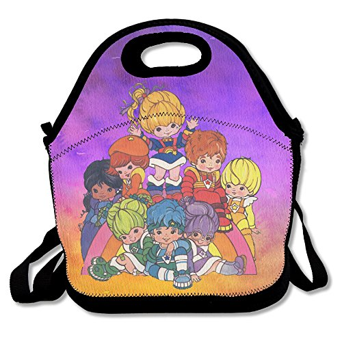 ioh-rainbow-brite-chasing-rainbows-cooler-lunch-bag-outdoor-picnic-bag