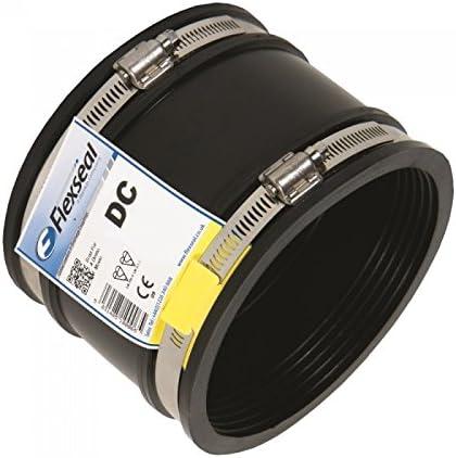 caoutchouc souple Raccord d/'/évacuation DC115/Flexseal avec OD de 100/mm /à 115/mm des deux c/ôt/és