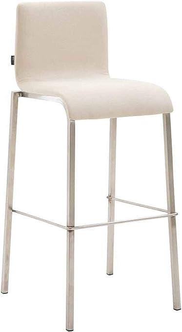 Tabouret de Bar Design KADO Dossier et Repose Pied I Chaise