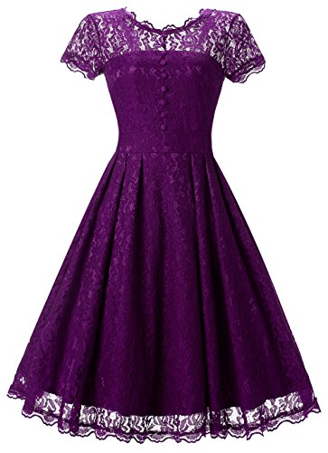 hot pink 80s prom dress - 5