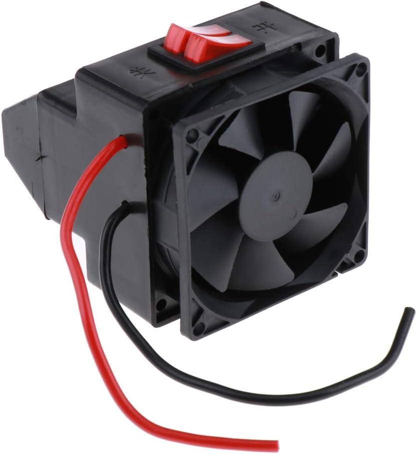 Gazechimp 12v 300w Auto Heizlüfter Keramikheizer Heizung Ventilator Automatischer Überhitzungsschutz Küche Haushalt